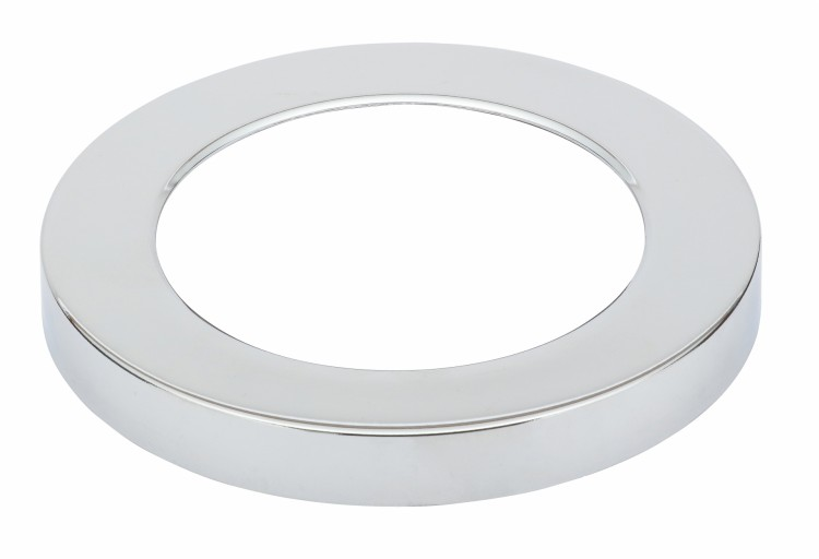 DIFL0082Nuva Small Round Magnetic Chrome Cover