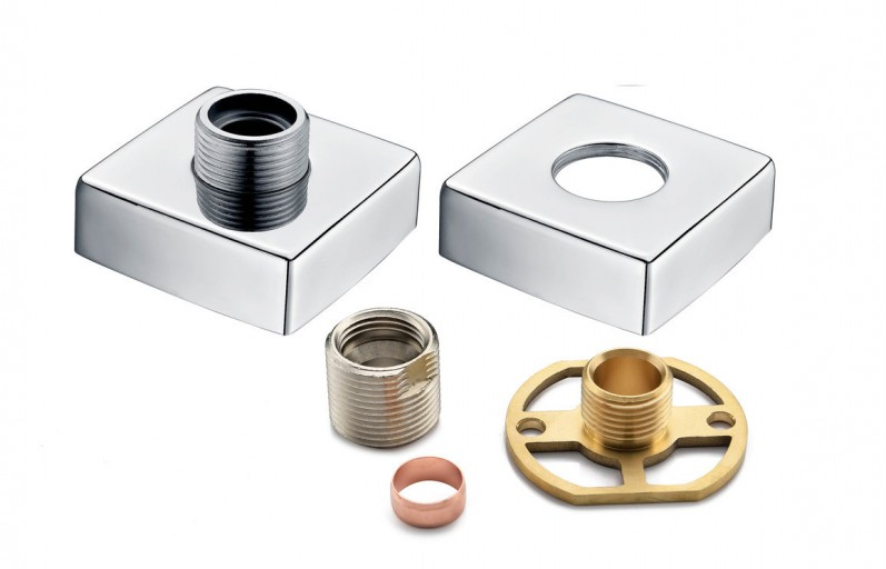 DICM0250Exposed Shower Valve Fast Fitting Kit Square