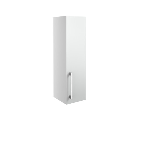 DIFT1300Alba White Gloss 200mm 1 Door Wall Unit