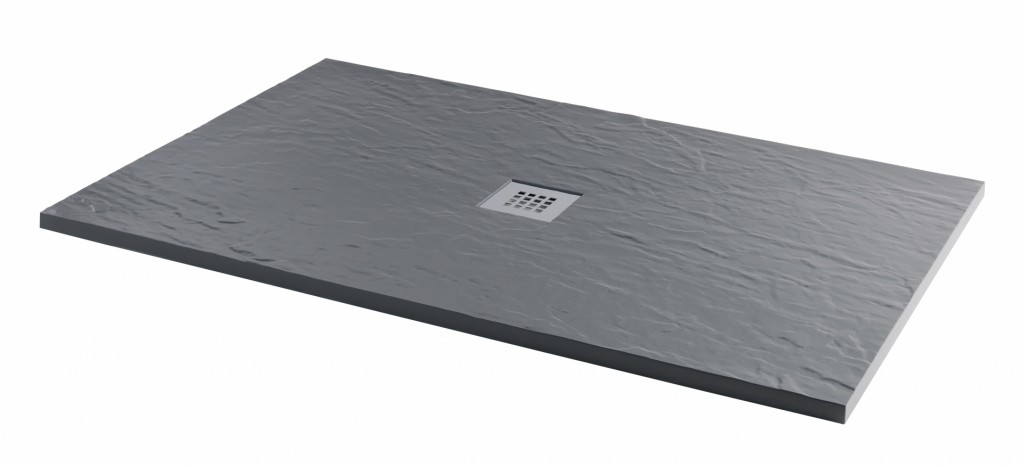 Rectangle Slate Grey Shower Tray