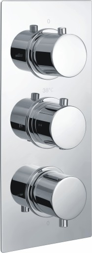 DICM0166Circa Thermostatic Triple Shower Valve